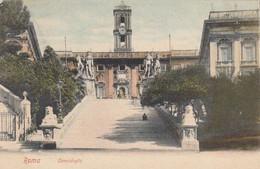 ROMA-CAMPIDOGLIO-CARTOLINA VIAGGIATA NEL 1904 - Other Monuments & Buildings