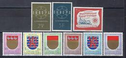 Luxembourg - Luxemburg , Timbres  -  1959  Année Complète  3 Séries  MNH**  VC.16,- - Blokken & Velletjes