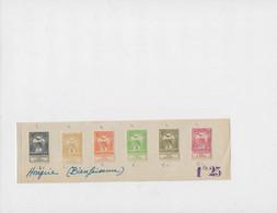 Belle Série( Avec Bandelette ) , Année 1913 , N: 106/111 Neuf * - Ungebraucht