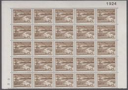 1964. DANMARK. DANSK FREDNING. 25 øre. 25-Block Number 1924. (Michel 425x) - JF414923 - Briefe U. Dokumente