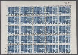 1967. DANMARK. KØBENHAVN. 80 øre. 25-Block Number 2003. (Michel 454x) - JF414925 - Briefe U. Dokumente