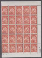 1967. DANMARK. FRELSENS HÆR. 60 + 10 øre. 25-Block Number L 099. (Michel 465) - JF414929 - Briefe U. Dokumente