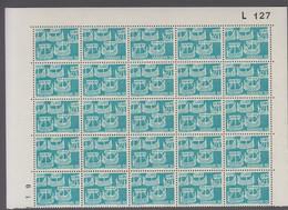 1969. DANMARK. NORDEN. 90 øre. 25-Block Number L 127. (Michel 476) - JF414933 - Briefe U. Dokumente