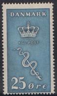 1929. Cancer Stamps. 25 Øre + 5 Øre Blue Hinged. (Michel 179) - JF415039 - Nuevos