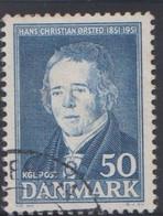 1951. DANMARK. Hans Christian Ørsted__ VARIETY LINE IN S. (Michel 325 Var) - JF415086 - Briefe U. Dokumente