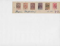 Belle Série( Avec Bandelette ) , Année 1913 , N: 114/120  Oblitérés - Gebraucht