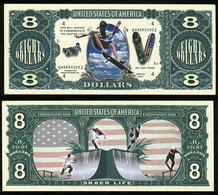 !!! USA - FANTASY NOTE -  SKATEBOARD  - UNC - Other