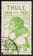 1935. Thule. 10 Øre Green (Michel 1) - JF415149 - Thule