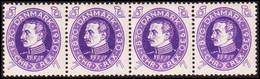 1930. DANMARK. 60th Birthday Of King Christian X.  7 Øre. 4-stripe Never Hinged. (Michel 186) - JF415153 - Nuevos