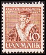 1937. DANMARK  10 øre HANS TAVSEN Never Hinged. () - JF415154 - Nuevos