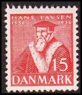 1937. DANMARK  15 øre HANS TAVSEN Never Hinged. () - JF415155 - Nuevos