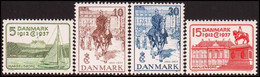 1937. Danmark. Chr. X Silverjubilee. Complete Set. Never Hinged.  (Michel 237-240) - JF415162 - Nuevos