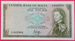 MALTA 1 Pound 1967 P-29a, UNC - Malta