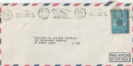 """Lettre D'Argentine Avec Flamme """"FLOTA MERCANTRE DEL ESTADO"""" (TTB) Pour Thématique Marine Ou Commerce ? - Lettres & Documents"""