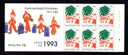 FINLANDE 1993 - CARNET  YT C1198a - Facit H23 - Neuf ** MNH - Noël, Christmas - Markenheftchen