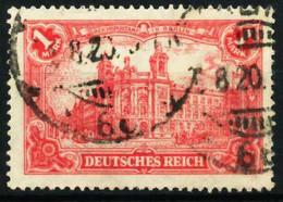 D-REICH INFLA Nr A 113a Zentrisch Gestempelt X6872C2 - Usati