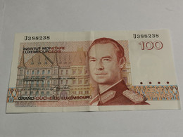 Luxembourg, Billet 100 Francs - Luxembourg