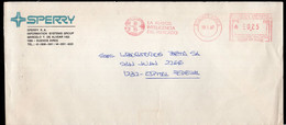 Argentina - 1987 - Lettre - Cachet Spécial - Affranchissement Mécanique - Sperry - A1RR2 - Lettres & Documents