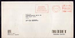 Argentina - 1989 - Lettre - Cachet Spécial - Affranchissement Mécanique - Nugget Training Center - A1RR2 - Lettres & Documents