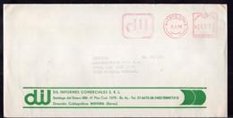 Argentina - 1986 - Lettre - Cachet Spécial - Affranchissement Mécanique - DIL Informes Comerciales  - A1RR2 - Lettres & Documents