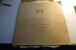 DESTOCKAGE BRESIL FEUILLES ENTIERES ANCIENNES  TAXE SUR LE PHOSPHORE  Dans Album Classeur Ancien - Colecciones & Series