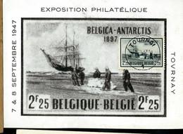 """CM Du N° 750 Navire """" Belgica """"  Obl. TOURNAI  - M 1 M - Du 07/08/47 - 1934-1951"""