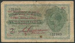MALTA 1 Shilling On 2 Shillings 1918 (1940) - Pick 15 - Malta