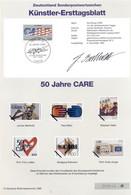 Allemagne 1995 - Michel N. 1829 - Künstler-Ersttagblatt CARE (Y & T N. 1661) - FDC: Feuilles