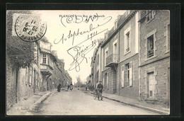 CPA Plancoet, Rue De Nazareth - Plancoët