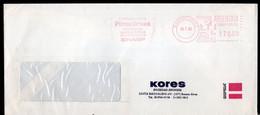 Argentina - 1985 - Lettre - Cachet Spécial - Affranchissement Mécanique - Kores - A1RR2 - Lettres & Documents