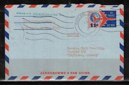 63Y * AEROGRAMME VON PORTLAND/OREGONNACH ULM * AIRMAIL 1964 **!! - Cartas