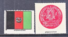 AFGHANISTAN  PAGE LABELS   * - Afganistán