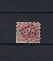 N°34 (ntz) GESTEMPELD Pt413 Liege (Outre-Meuse) COB € 7,50 + COBA € 20,00 - 1869-1883 Leopold II