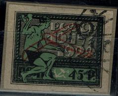 RUSSIA 1922 FLIGHT POST STAMPS MI No 200 USED VF !! - Gebraucht