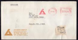 Argentina - 1985 - Lettre - Cachet Spécial - Affranchissement Mécanique - Laboratorios Bago SA - A1RR2 - Lettres & Documents