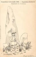 CPA EXPOSITION UNIVERSELLE 1900 / RARE SERIE BRETONNE - Exhibitions