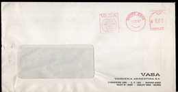 Argentina - 1987 - Lettre - Cachet Spécial - Affranchissement Mécanique - VASA Vidrieria Argentina SA - A1RR2 - Lettres & Documents
