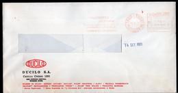 Argentina - 1989- Letter - Courrier Privé Transportes Andreani - Circulé - DUCILO - Envoyé En Buenos Aires  - A1RR2 - Lettres & Documents