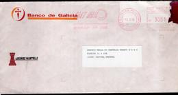 Argentina - 1996 - Lettre - Courrier Privé Fast Mail - Circulé - Envoyé En Buenos Aires - Banco De Galicia - A1RR2 - Cartas