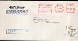 Argentina - Circa 2000 - Courrier Privé Mail Corp - Circulé - Envoyé En Buenos Aires - Service Men SA - A1RR2 - Cartas