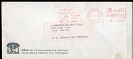 Argentina - 1990 - Lettre - Cachet Spécial - Affranchissement Mécanique - SEA SA - A1RR2 - Cartas