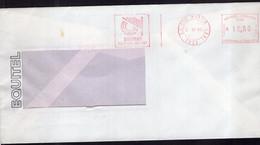 Argentina - 1989 - Lettre - Cachet Spécial - Affranchissement Mécanique - Equitel - Siemens - A1RR2 - Lettres & Documents