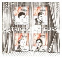 France Bloc N** YvF5174 Mi:381BL Actrices Acteurs - Nuevos