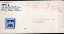 Argentina - 1986 - Lettre - Cachet Spécial - Affranchissement Mécanique - Ascensores OTIS - A1RR2 - Lettres & Documents