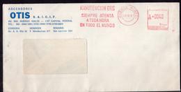 Argentina - 1987 - Lettre - Cachet Spécial - Affranchissement Mécanique - Ascensores OTIS - A1RR2 - Lettres & Documents