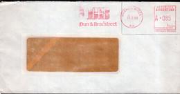 Argentina - 1988 - Lettre - Cachet Spécial - Affranchissement Mécanique - Dun & Bradstreet - A1RR2 - Lettres & Documents