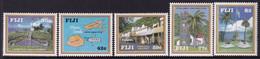 FIJI 1992 Levuka Sc 669-73 Mint Never Hinged - Fiji (1970-...)