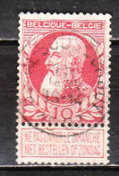 74  Grosse Barbe - Bonne Valeur - Oblit. Centrale BOMAL SOUS DURBUY - LOOK!!!! - 1905 Grosse Barbe