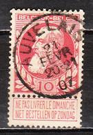 74  Grosse Barbe - Bonne Valeur - Oblit. Centrale AUVELAIS - LOOK!!!! - 1905 Grosse Barbe