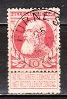74  Grosse Barbe - Bonne Valeur - Oblit. Centrale FURNES - LOOK!!!! - 1905 Grosse Barbe